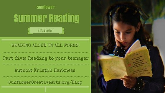 Reading to your Teenager: For the love of books
